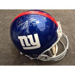 Authentic NY Giants Helmet Signed by Coughlin & Manning