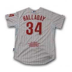 Roy Halladay Autographed Commemorative No Hitter Jersey