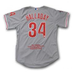 Roy Halladay Autographed Commemorative Perfect Game Jersey
