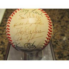 1987 NY Mets Signed Baseball