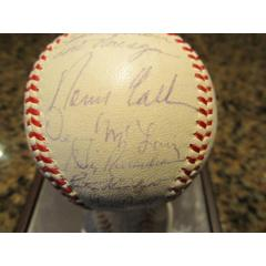 1966 AL All Stars Signed Baseball