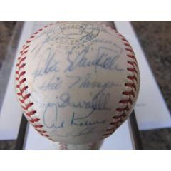 1965 AL All Stars Signed Baseball
