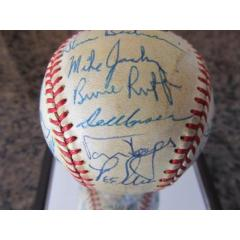 1986 Phillies Signed Baseball