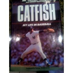 "Catfish Hunter Autographed ""My Life in Baseball"""