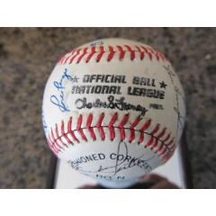 1983 Cincinnati Reds Team Signed Baseball