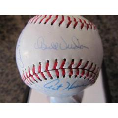1981 Houston Astros Team Signed Commemorative Baseball