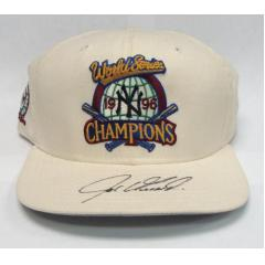 Joe Girardi Signed '96 World Series Champs Cap