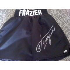 Joe Frazier Signed Boxing Trunks