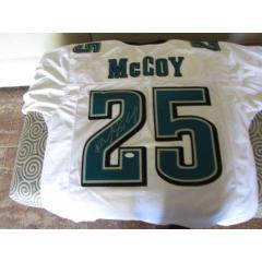 LeSean McCoy Autographed Eagles Jersey
