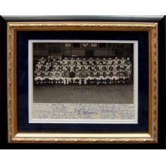 1952 New York Football Giants Signed Team Photograph