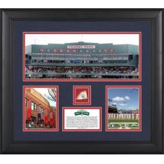 Fenway Park 100th Anniversary Framed Photo Collage