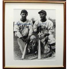 Ted Williams & Bobby Doerr Autographed Photo