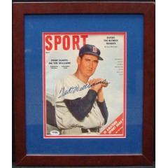 "Ted Williams Autographed ""Sport"" Magazine - July 1956"