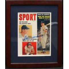 "Ted Williams Autographed ""Sport"" Magazine - June 1959"