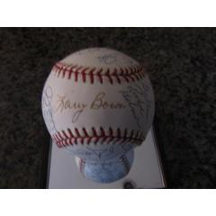 2001 Phillies Team Signed Baseball