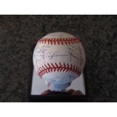1999 Phillies Team Signed Baseball
