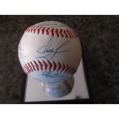1993 Mets Team Signed Baseball