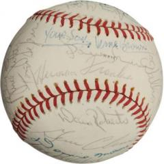 1977 Chicago Cubs Team Signed Baseball