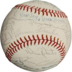 1977 Chicago Cubs Team Signed Baseball