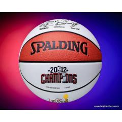 Miami Heat 2012 NBA Champs Commemorative Basketball