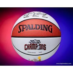 Miami Heat 2012 NBA Champs Commemorative Basketball