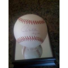 Paul Molitor Signed & Inscribed Baseball
