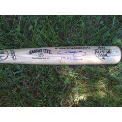 Chris Sale Signed 2012 All Star Game Louisville Slugger Bat