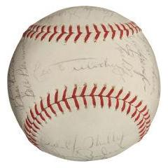 1968 Chicago Cubs Team Signed Baseball