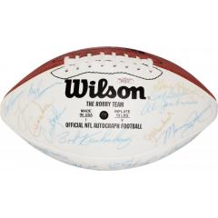 1972 Miami Dolphins Perfect Season Team Signed Ball