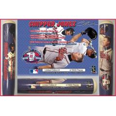 Chipper Jones Career Achievement Commemorative Bat
