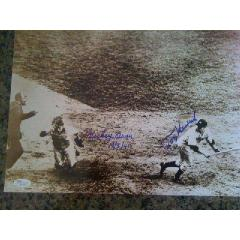 "Mickey Owens Signed & Inscribed ""Passed Ball"" Photo"