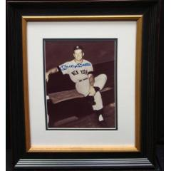 Mickey Mantle Autographed Photo - Framed