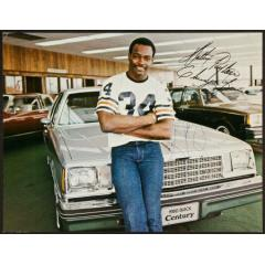 Walter Payton Autographed Buick Automobile Ad