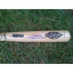 Craig Kimbrel Autographed Bat with Inscription