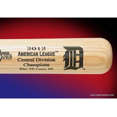 Tigers 2012 AL Central Champs Louisville Slugger