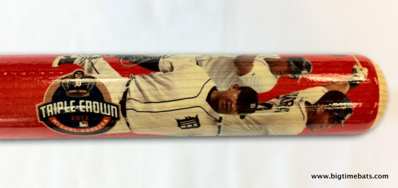 BigTimeBats.com - Miguel Cabrera Triple Crown Photo Bat