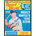 "Mickey Mantle Signed ""Sports World"" Magazine"