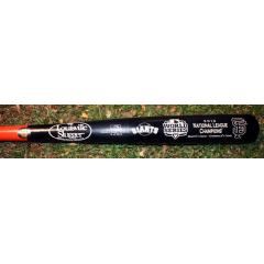 SF Giants 2012 World Series NL Champs Commemorative Bat