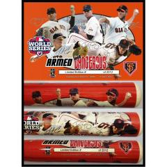 SF Giants World Series Armed & Dangerous Collectible Bat