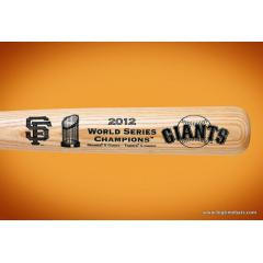 SF Giants 2012 World Series Champs Louisville Slugger Bats