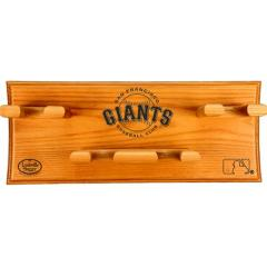 Giants Logo Custom 4 Bat Display Rack