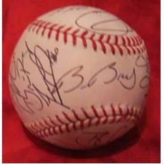 2012 Giants Team Signed World Series Baseballs