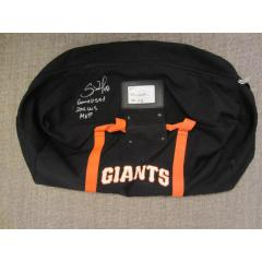 Pablo Sandoval Signed & Inscribed 2012 Gear Bag