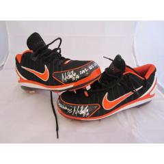 Marco Scutaro World Series Game Worn Cleats