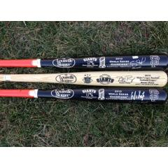 Get World Series & NL MVP Autographed Bats