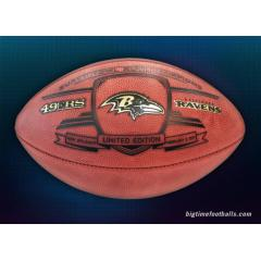Ravens Super Bowl XLVII Champs Commemorative Game Ball