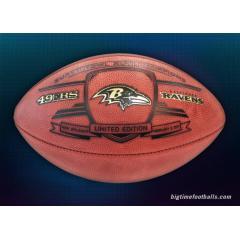 Ravens Super Bowl XLVII Champs Commemorative Game Ball