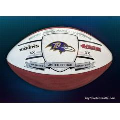 Ravens Super Bowl XLVII Champs Logo Football