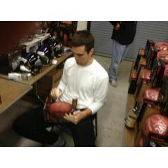 Get Joe Flacco's Autograph on a Super Bowl XLVII Champs Football