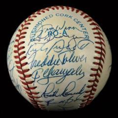 1988 Minnesota Twins Team Signed Baseball
